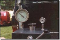 Comprobación manómetros