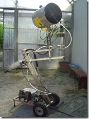 Nebulizador en frio electrico programable
