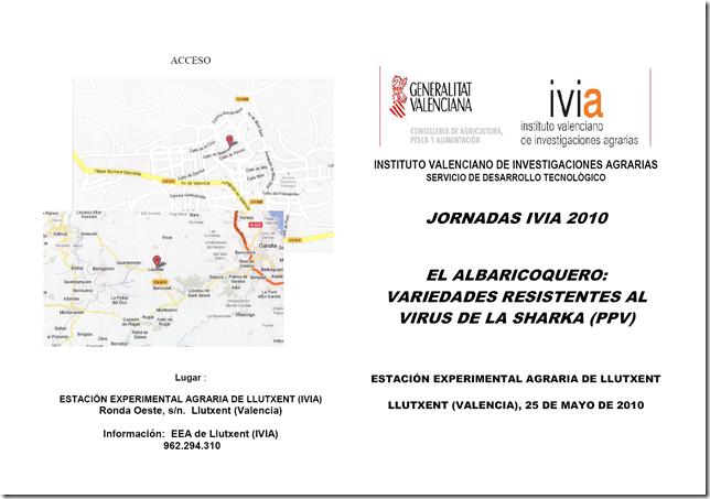 Jornadas IVIA - Albaricoque
