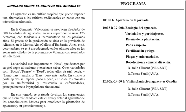 Jornada Aguacate
